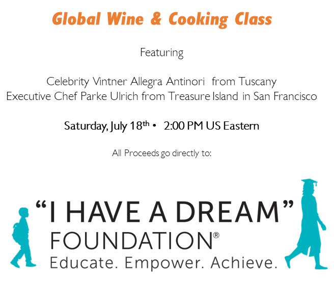 HTI Hosts Online Global Wine & Cooking Event